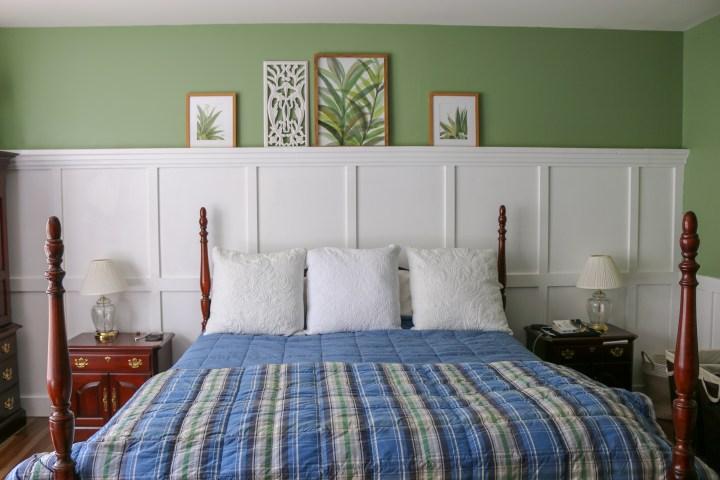 Behind the Scenes :: Master Bedroom Board + Batten