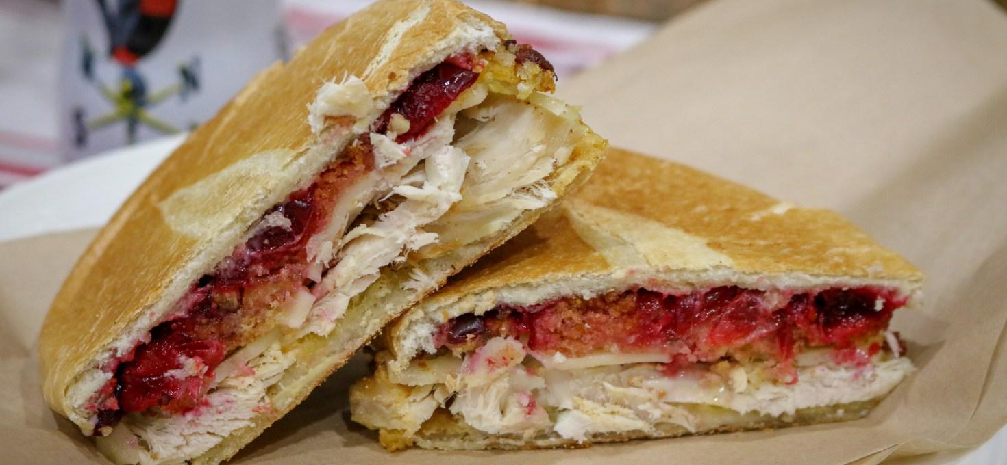 Thanksgiving Leftover Panini