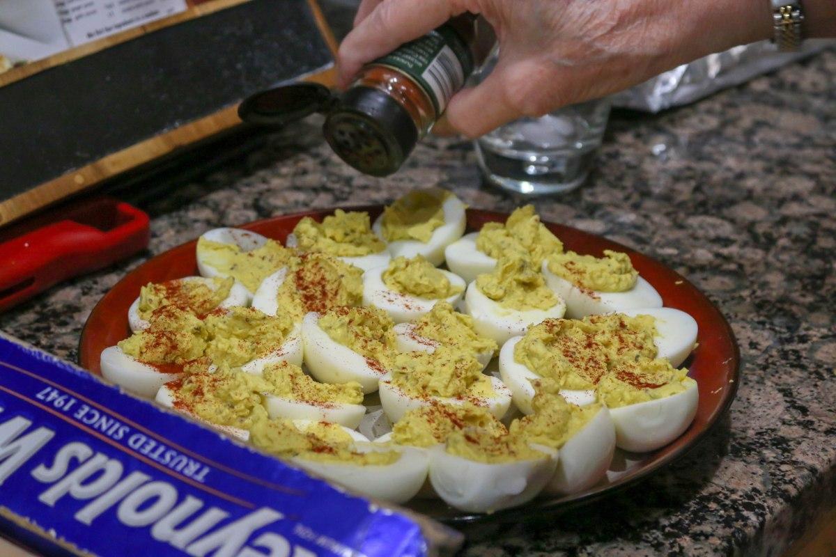 Mom's Deviled Eggs-9419