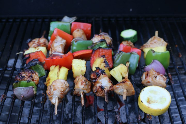 Hawaiian Huli-Huli Chicken Kabobs