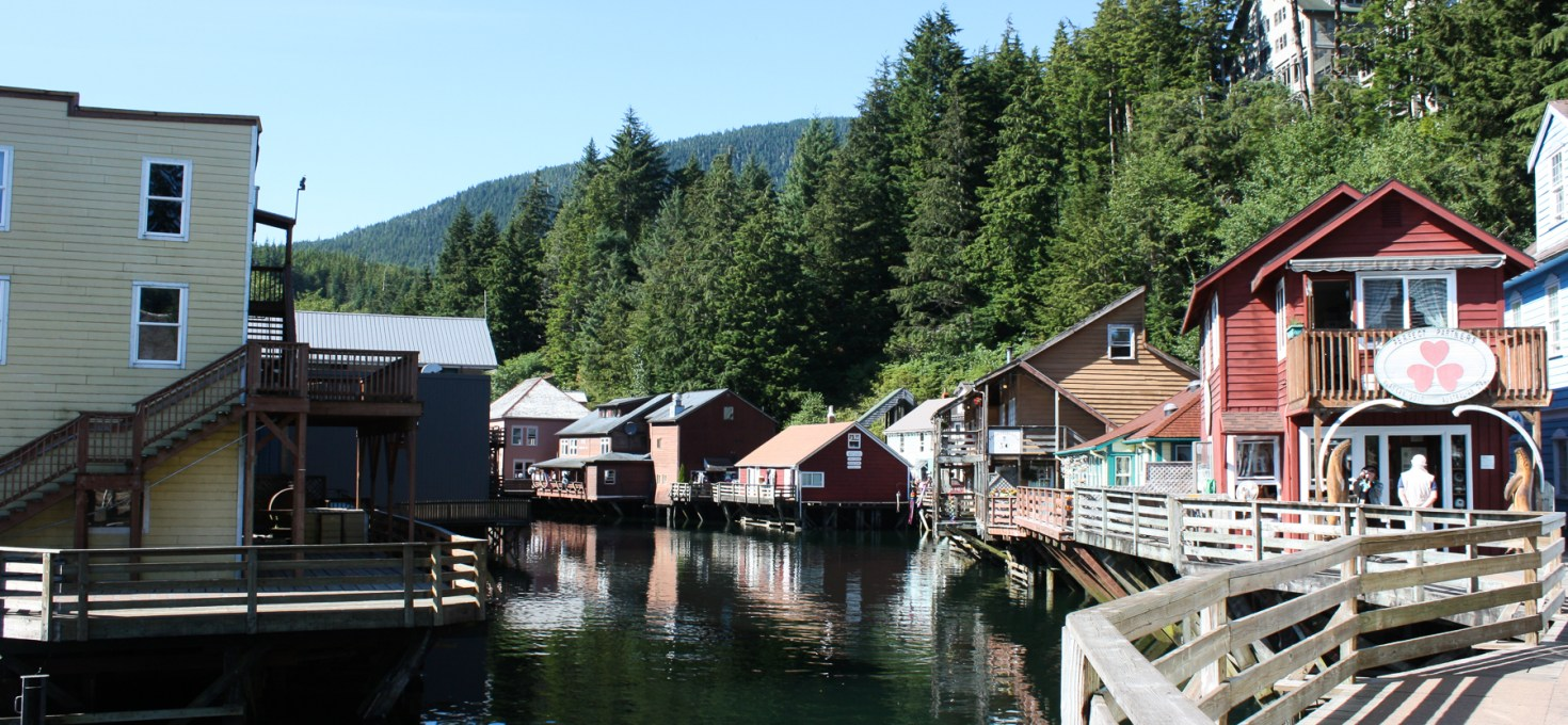 Ziplines & Salmon Running in Ketchikan