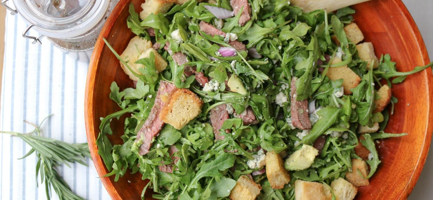 Gorgonzola Steak Chopped Salad