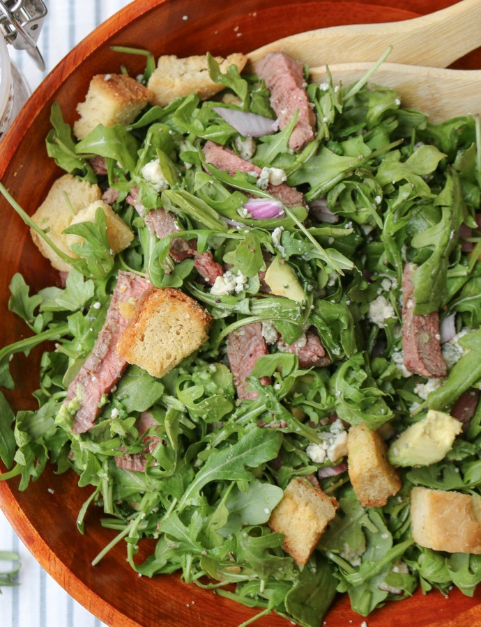 Gorgonzola Steak Chopped Salad