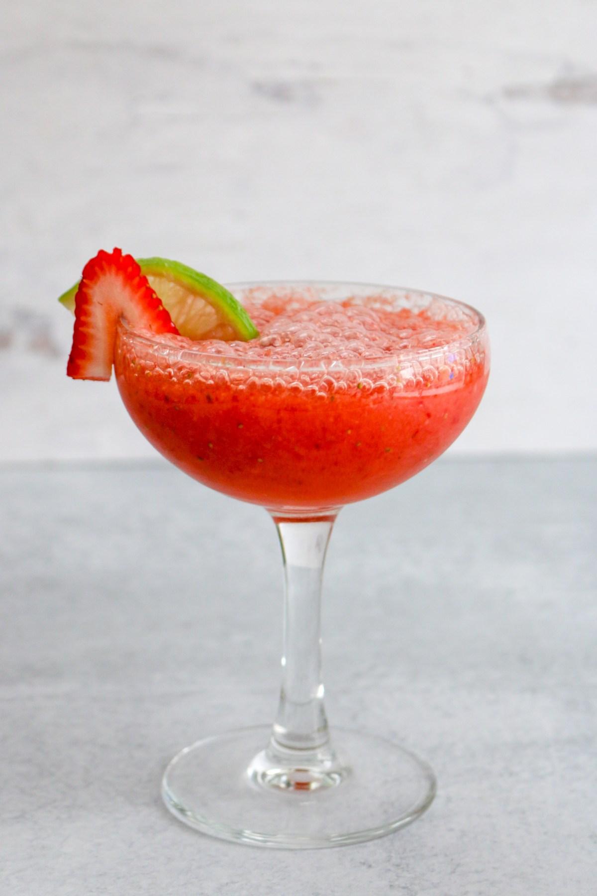 strawberry pineapple daiquiri