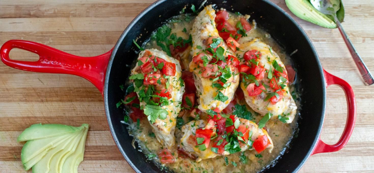 Monterey Skillet Chicken