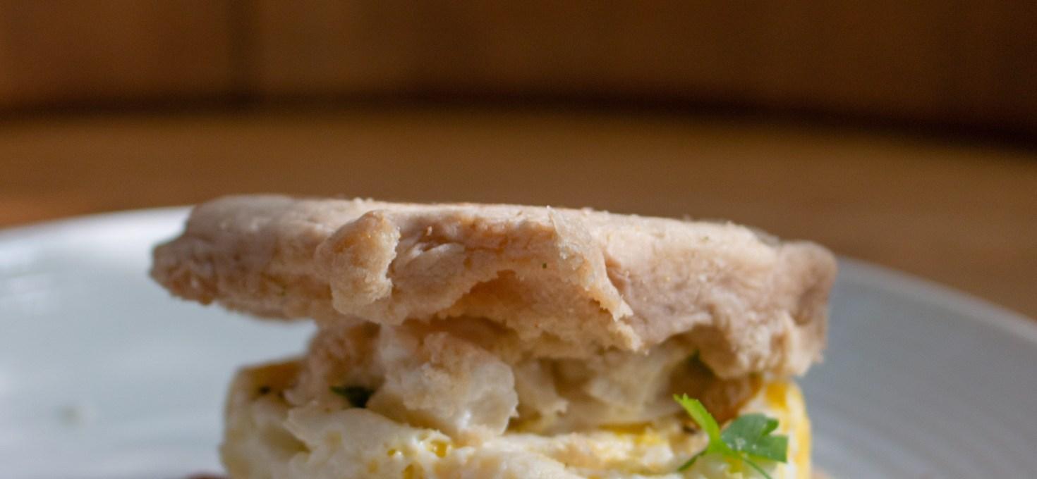Breakfast Egg Muffin Sandwiches