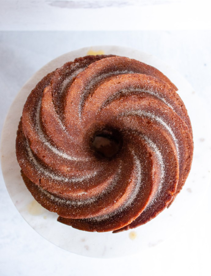 Apple Cider Donut Bundt Cake