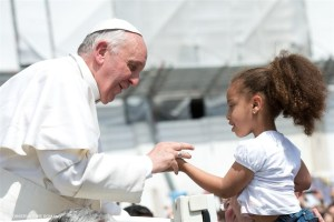 Do California Politicians actually hear Pope Francis' call for humanity for the displaced children at Texas' border? Or are they just using his words to spin their  own political agendas?