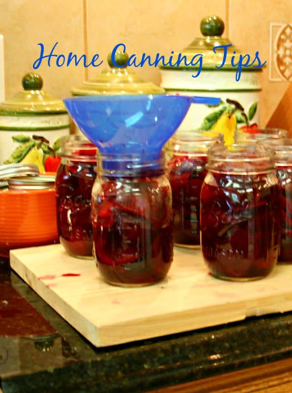 home canning tips