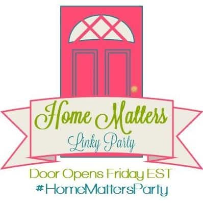 Home Matters Linky Party #84