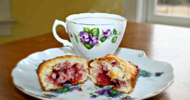Raspberry Jelly Muffin Recipe