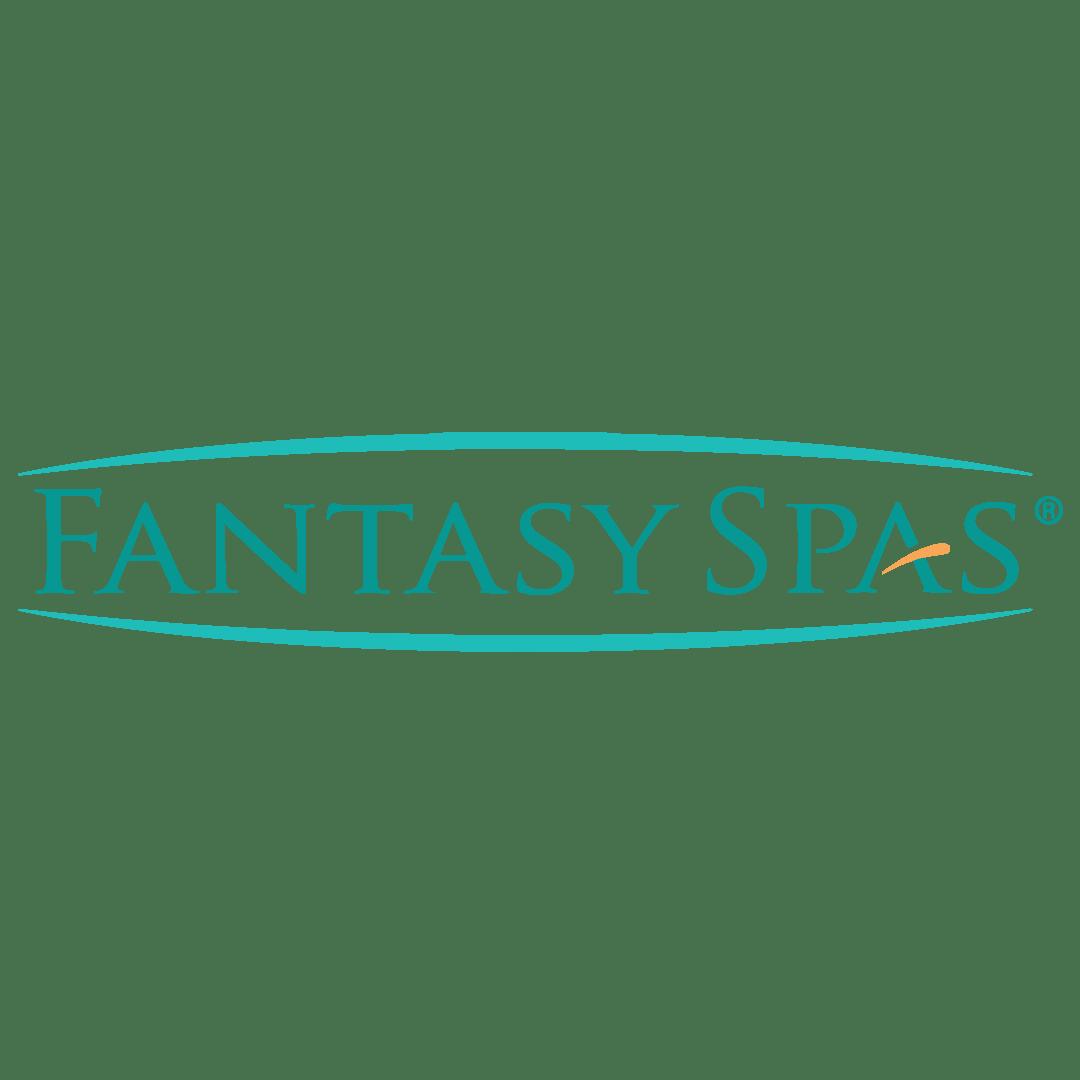 Illustratie: weergave van het logo/woordmerk van Fantasy Spas.