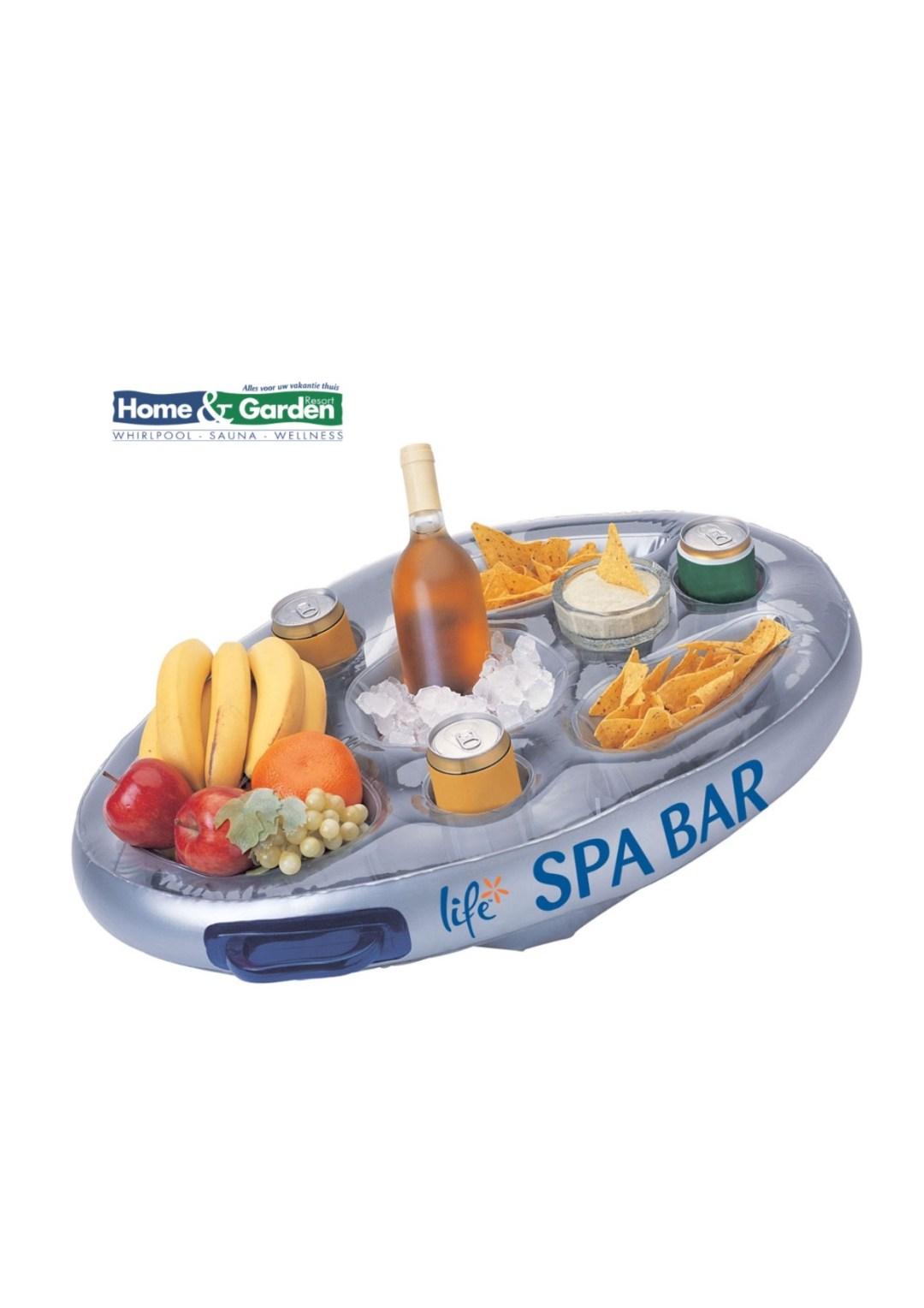 Spa bar voor bij de spa/whirlpool