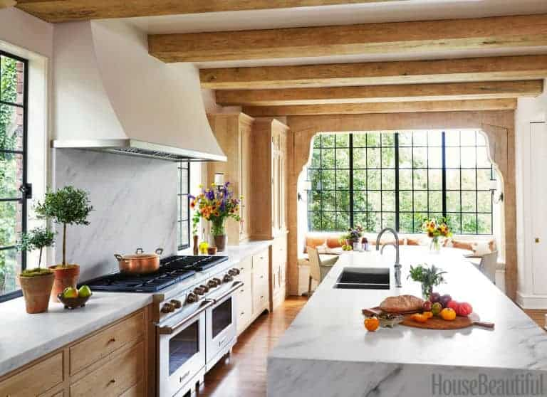 5 Fresh Looks for Natural Wood Kitchen Cabinets      Home Glow Design House Beautiful
