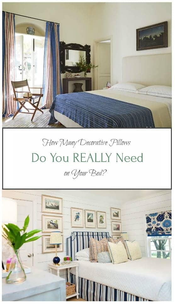 https homeglowdesign com 2017 12 02 pillow talk many decorative pillows really need bed