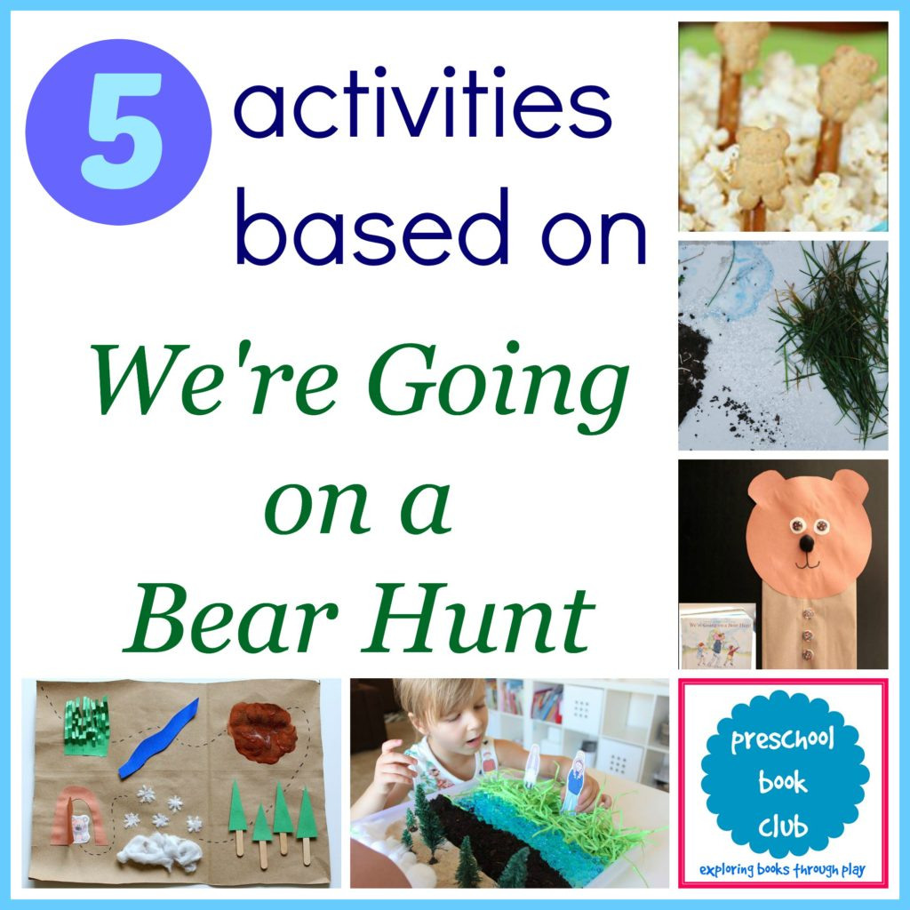 We Re Going On A Bear Hunt Activities
