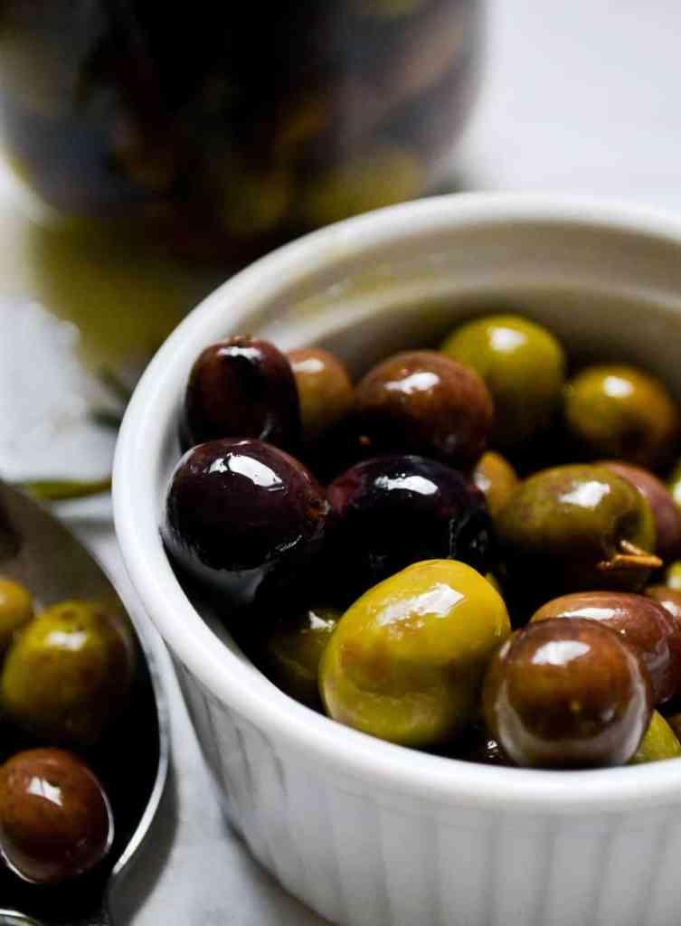 brine cured olives