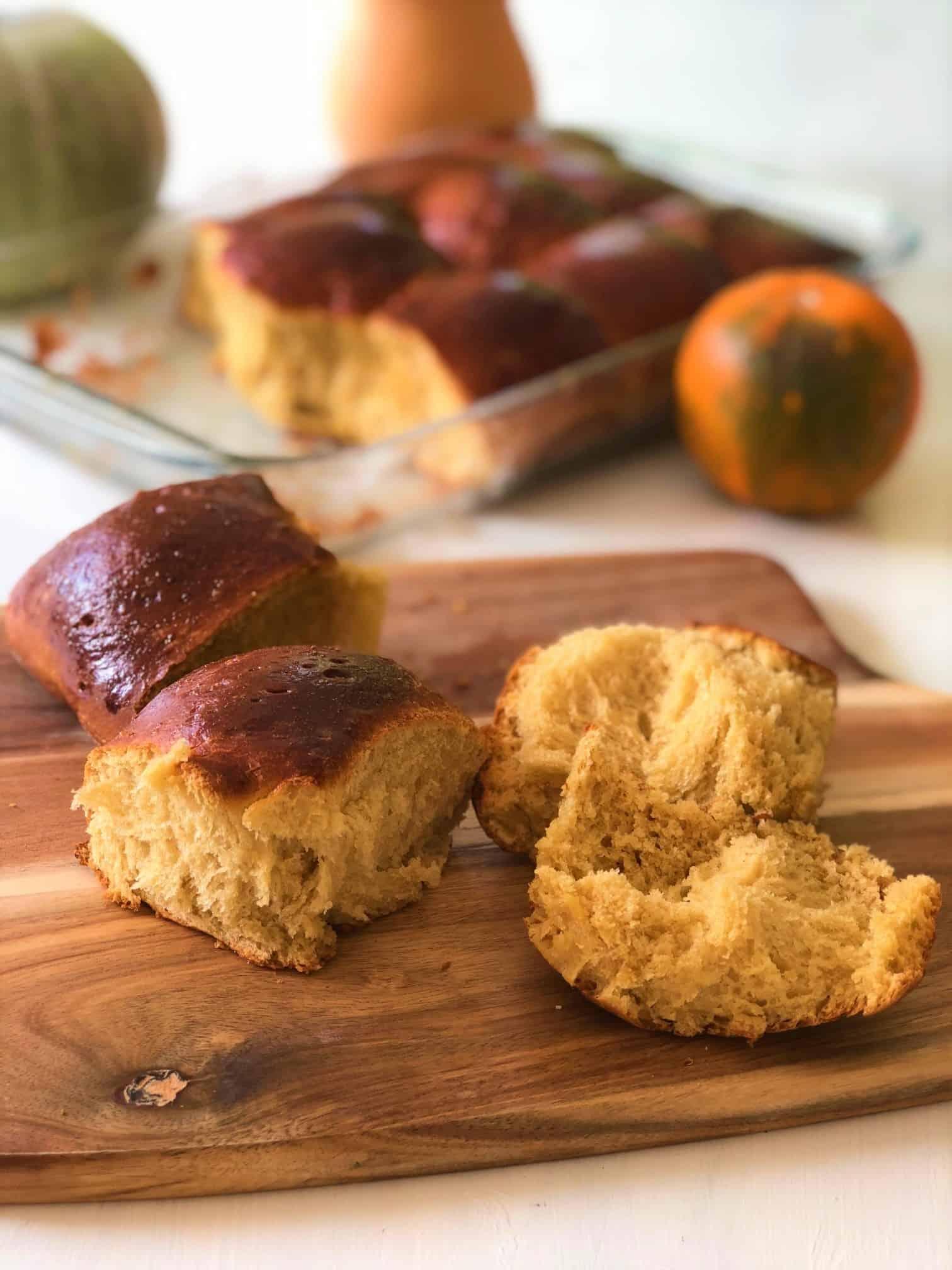 Pumpkin Brioche