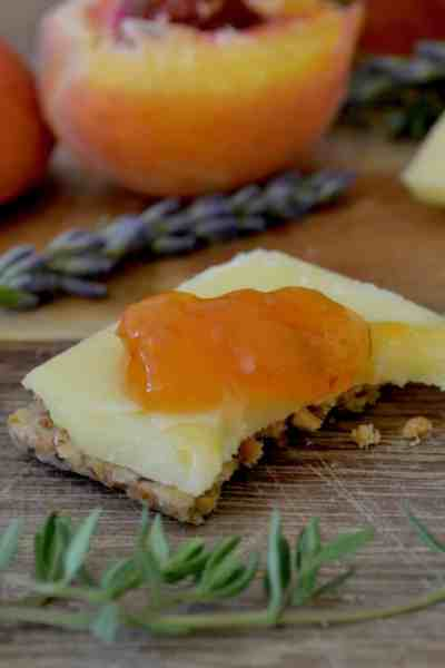 Peach, Lavender and Thyme Conserve