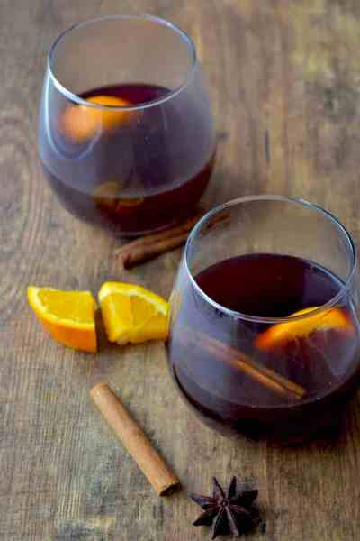 Homemade Mulled wine