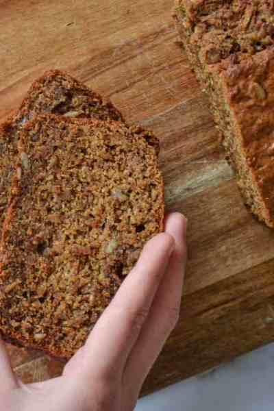 Vegan Banana and Seed Bread