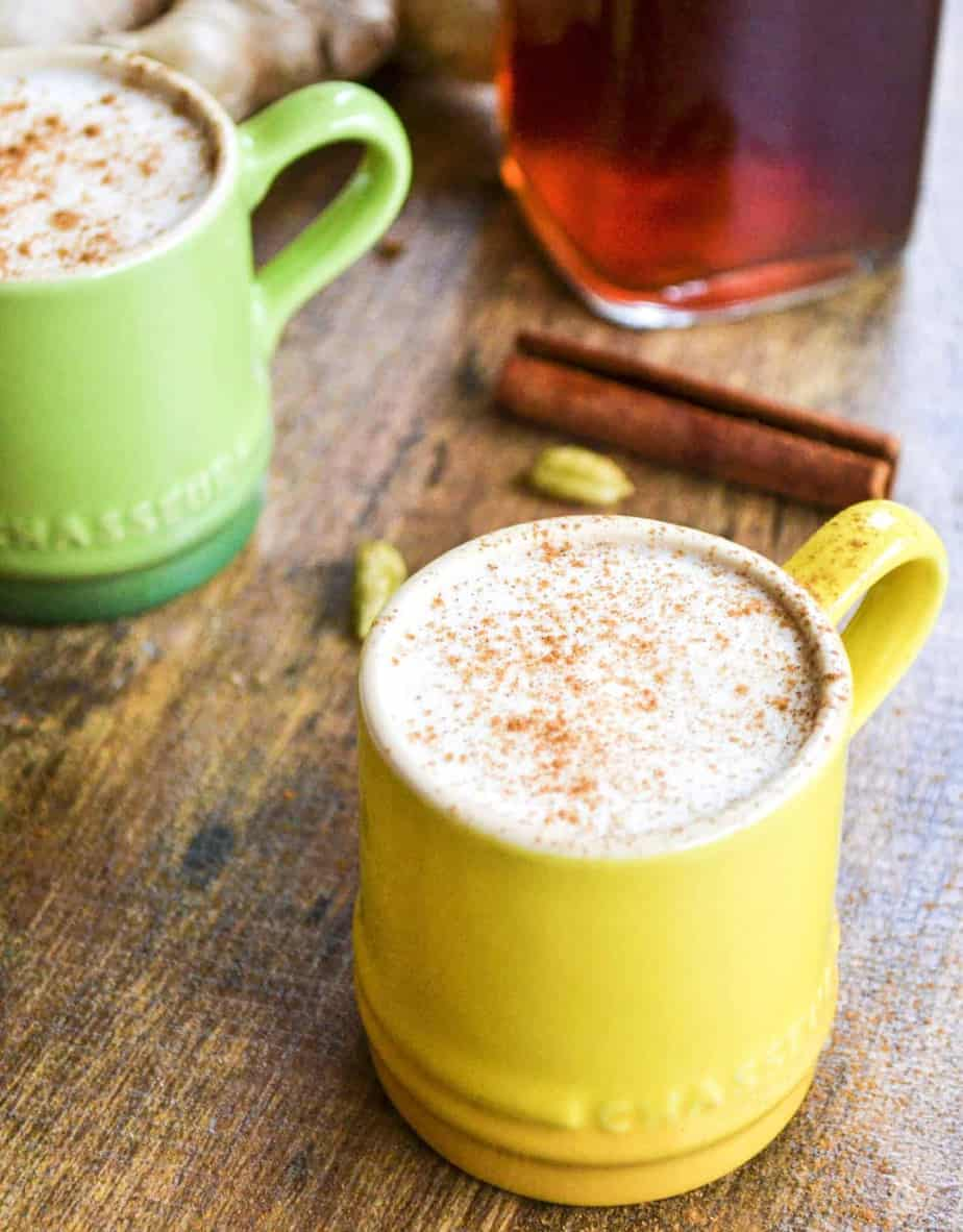 HOMEMADE CHAI LATTE CONCENTRATE HOME GROWN HAPPINESS