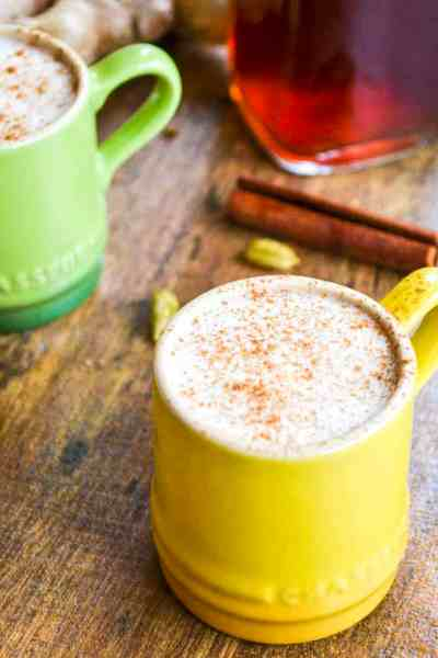 homemade chai latte