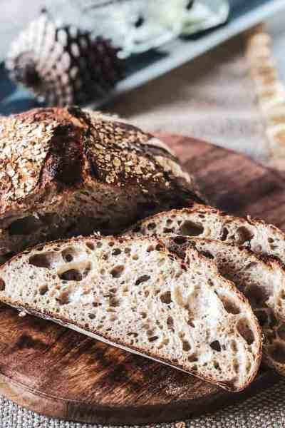 Honey Oat Sourdough