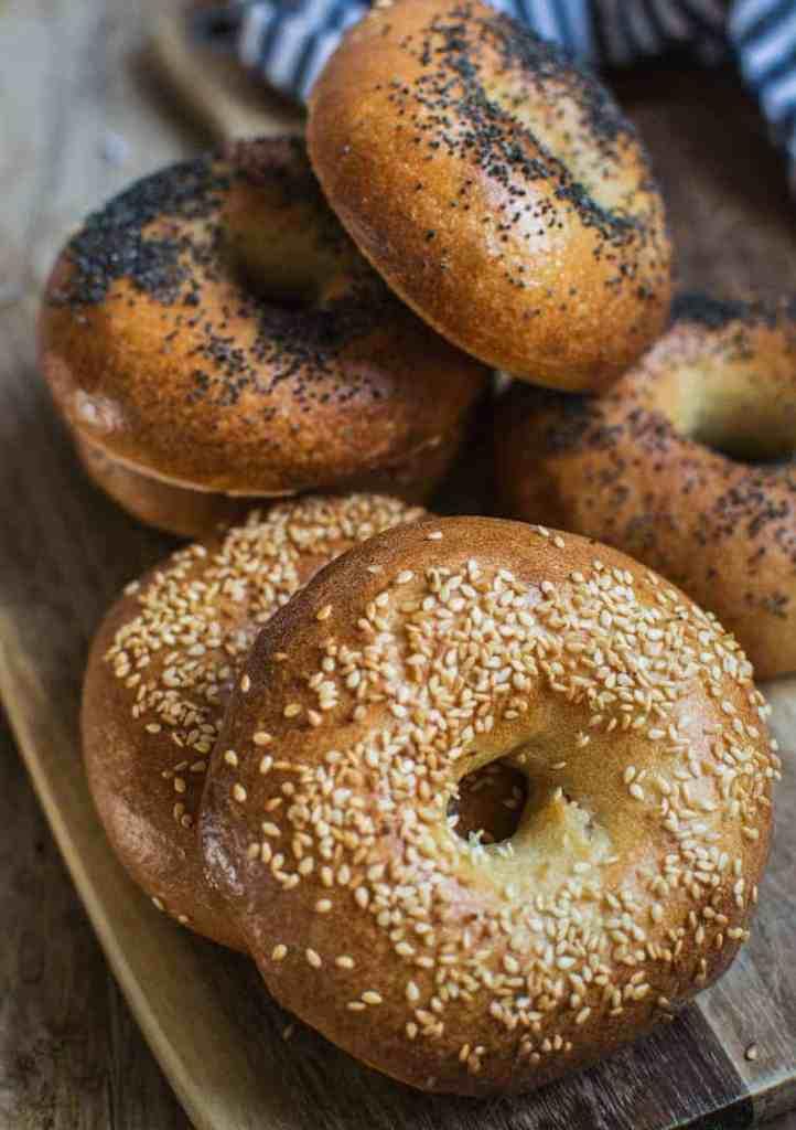 New York Style Sourdough Bagels