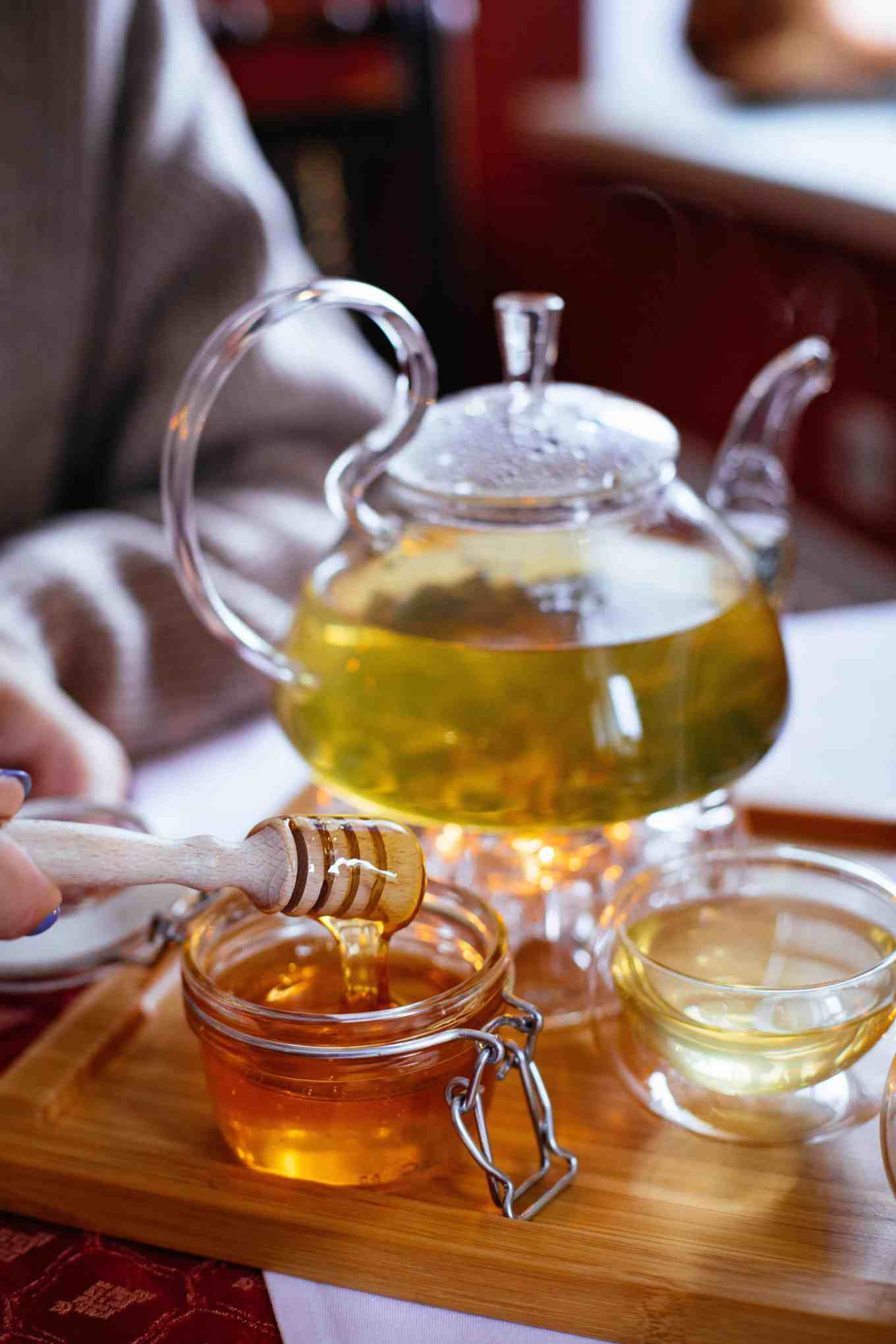 a soothing cup of tea