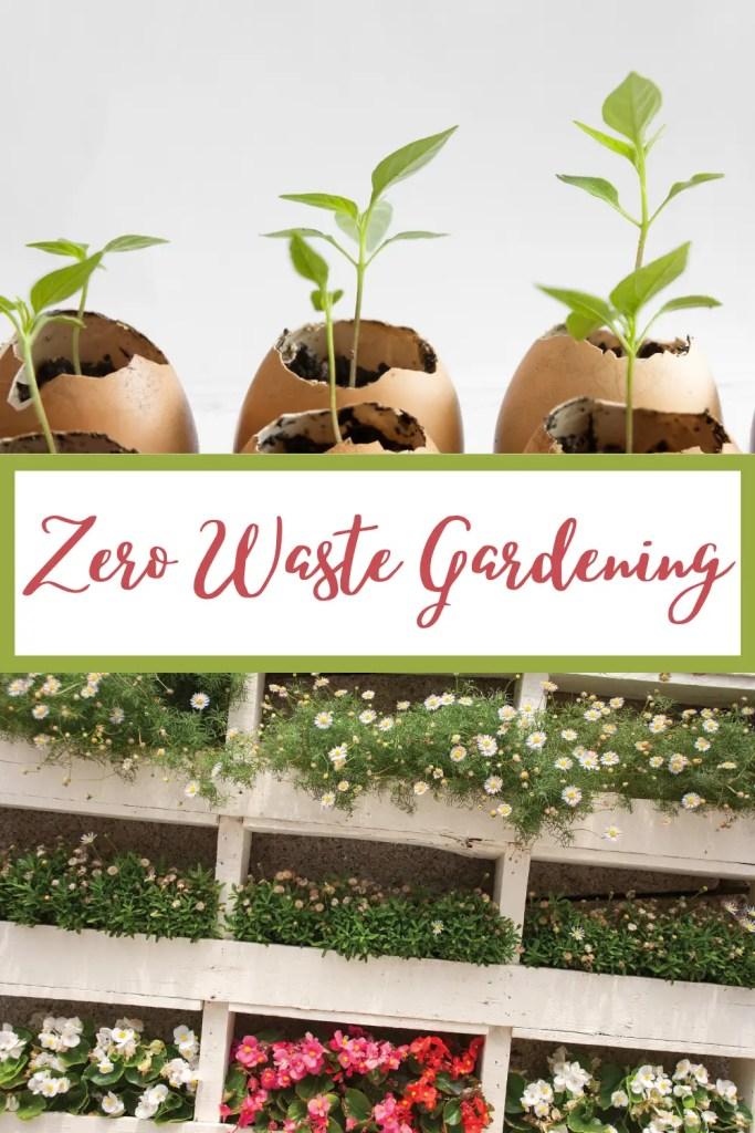 zero waste gardening tips