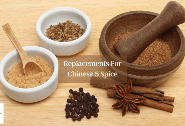 Substitutions and Alternatives To Chinese 5 Spice