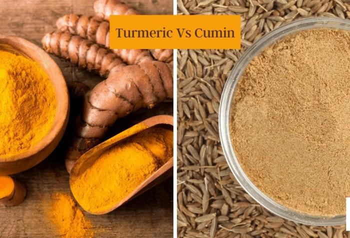 turmeric vs cumin