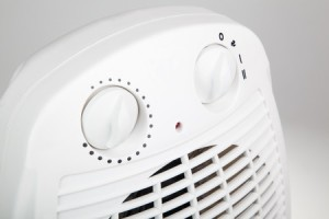 47345852 - close up of portable electric heater