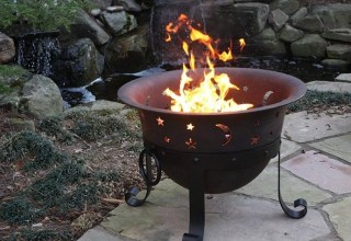 firepit grill combo