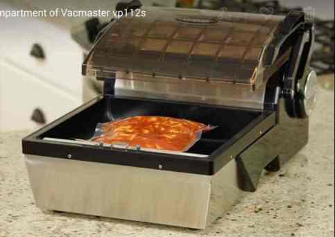 A Vacuum sealer for food