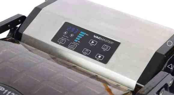 vacuum sealer for food controls