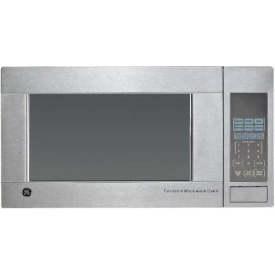 ge 1100 watt 1 1 cu ft stainless steel countertop microwave oven