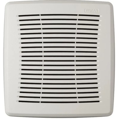 nutone replacement bathroom exaust fan grille for model 695 696 white