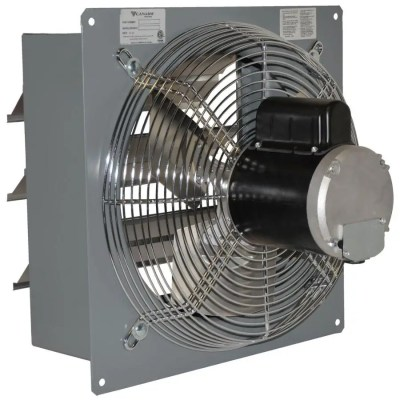 canarm 12 1 speed barn fan with shutter