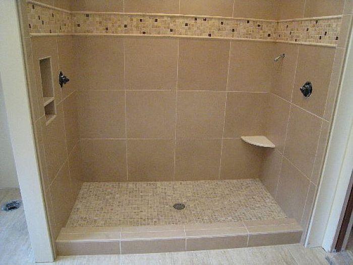 custom shower base how to make a