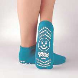 Pillow Paws Adult Socks L - Teal