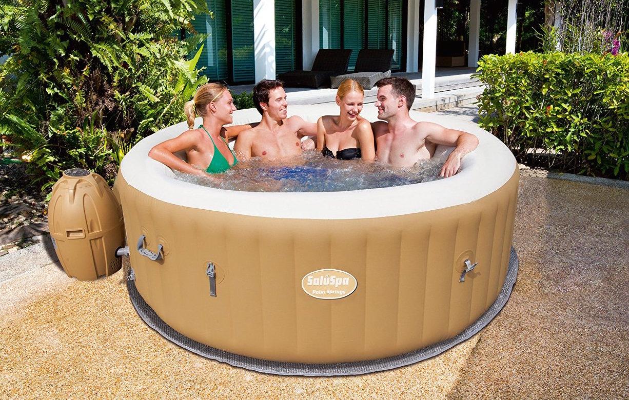 SaluSpa Palm Springs Hot Tub Review