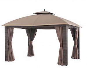 Sonoma Wicker Gazebo