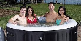 SaluSpa Miami AirJet Hot tub