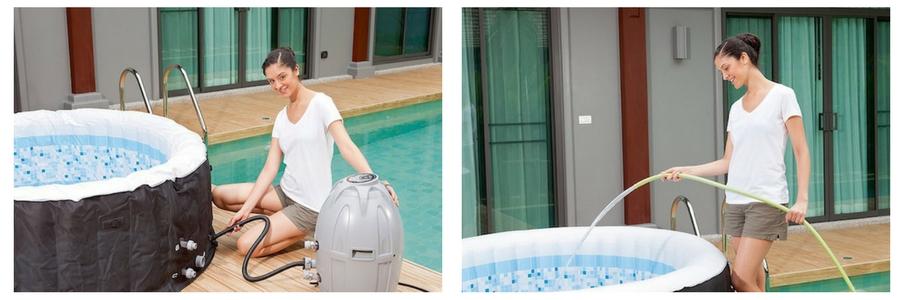 9. Coleman Hot tub COMBOPhoto