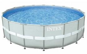 12.8 intex above ground pool Ultra Frame