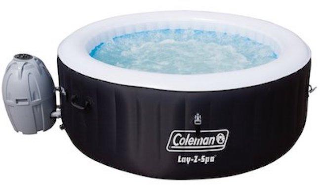 Coleman BLACK Cheap Inflatable Hot Tub