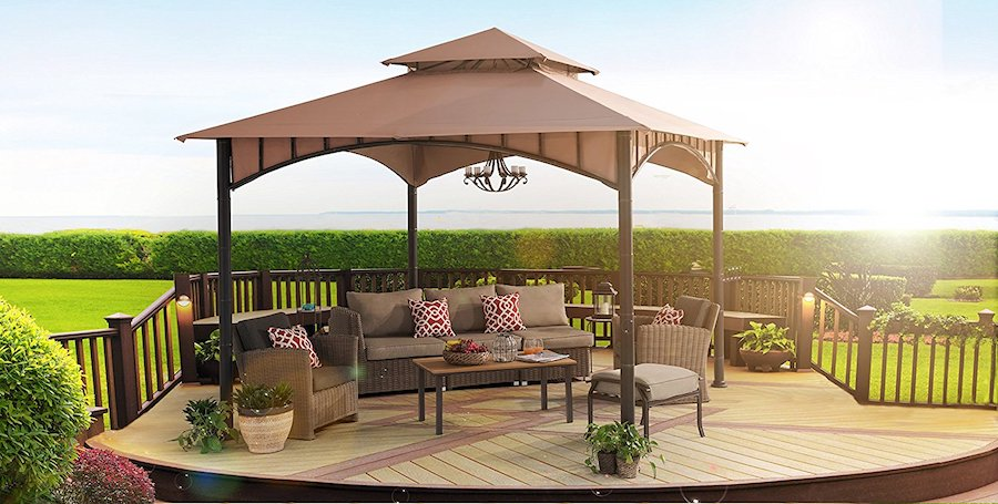 8.1 Summer Breeze Sunjoy Gazebo review