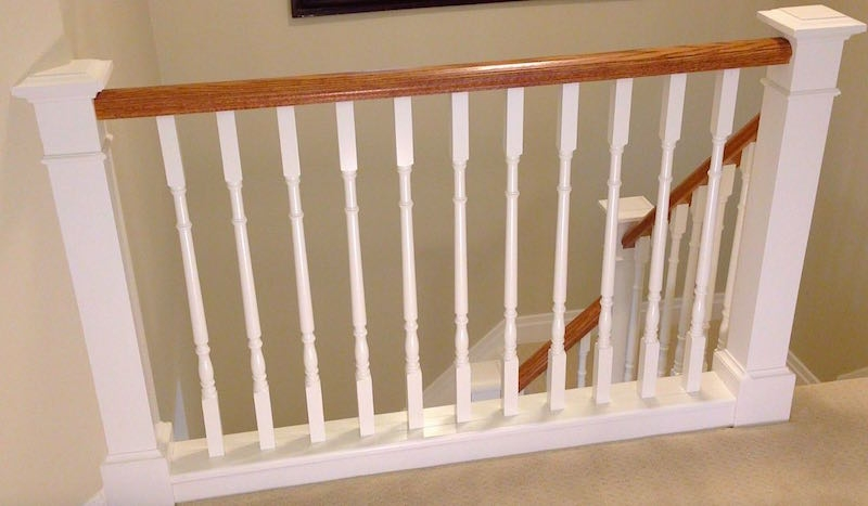 How To Install Stair Spindles Balusters – Home Improvement Woodworking | Banister Rail And Spindles | Square | Traditional | Carved Wood | Residential | Glass
